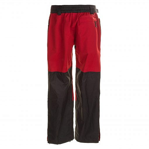 Kids Unisex Gorak Shep Outershell Pants - Burgundy / Black Back