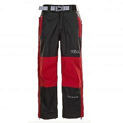 Kids Unisex Gorak Shep Outershell Pants - Burgundy / Black Front