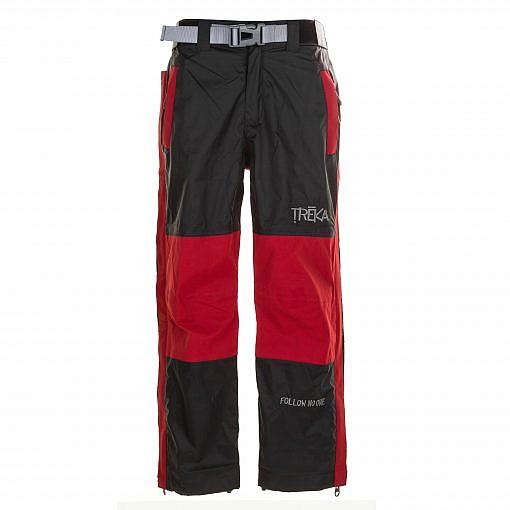 Kids Unisex Gorak Shep Outershell Pants - Burgundy / Black Front