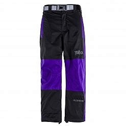 Kids Unisex Gorak Shep Outershell Pants - Purple / Black Front