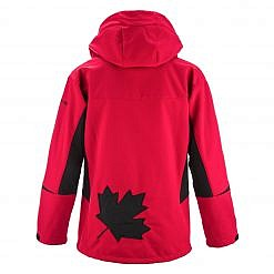 The Kalapattar Men's Windproof Jacket - Red / Black Back