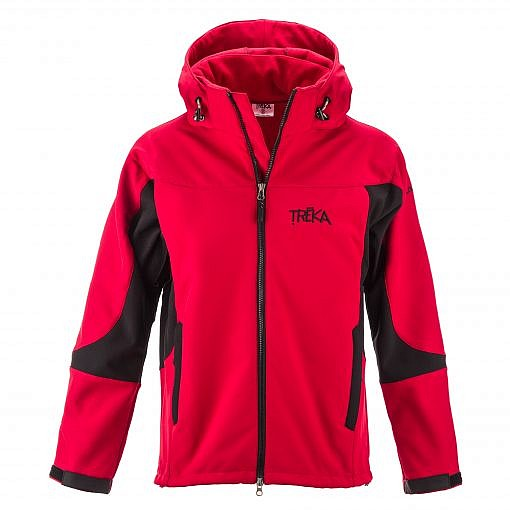 The Kalapattar Men's Windproof Jacket - Red / Black Front
