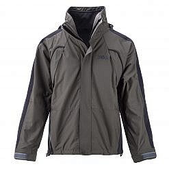 The Namche Men's 3 in 1 Snow Jacket - Green / Black Front