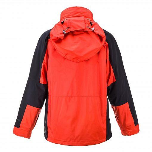 The Namche Men's 3 in 1 Snow Jacket - Orange / Black Back