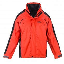 The Namche Men's 3 in 1 Snow Jacket - Orange / Black Front