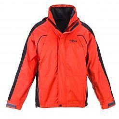 The Namche Men's 3 in 1 Snow Jacket - Orange / Black Front