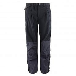 The Namche Men's Snow Pants - Blue / Black Front