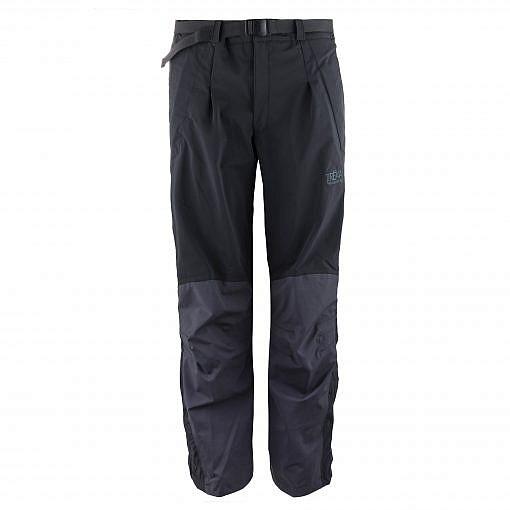 The Namche Men's Snow Pants - Blue / Black Front