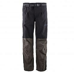 The Namche Men's Snow Pants - Green / Black Front