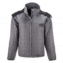The Pumori Men's Insulated Jacket - Grey Front