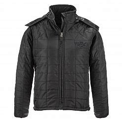 The Pumori Men's Insulated Jacket - Black Front