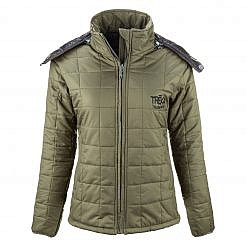 The Pumori Women's Insulated Jacket - Green Front