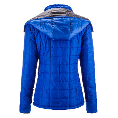 The Pumori Women's Insulated Jacket - Royal Blue Back