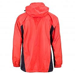 Men's Dingboche Rain Jacket - Orange / Black Back