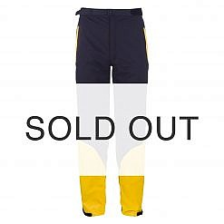 Men's Dingboche Rain Pants - Yellow / Black Front Sold Out