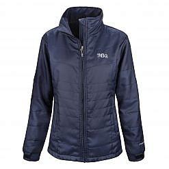 Women's Khumbu 100 GSM Insulated Jacket - Navy Blue Front