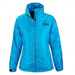 Women's Spring Fall Jacket Khumbu 100 GSM Insulated Jacket - Sky Blue Front