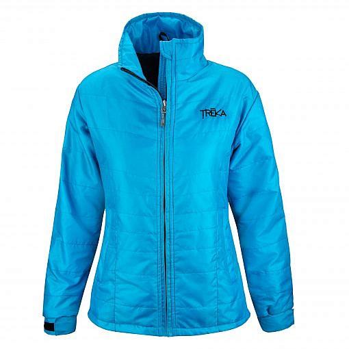 Women's Spring Fall Jacket Khumbu 100 GSM Insulated Jacket - Sky Blue Front