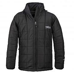 The Pumori Kids Insulated Winter Jacket - Black Front