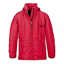The Pumori Kids Insulated Winter Jacket - Red Front