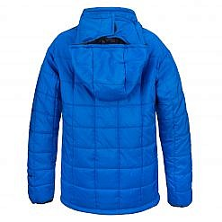 The Pumori Kids Insulated Winter Jacket - Royal Blue Back