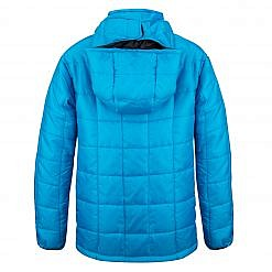 The Pumori Kids Insulated Winter Jacket - Sky Blue Back