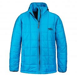 The Pumori Kids Insulated Winter Jacket - Sky Blue Front
