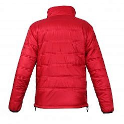 Men's Deusa 150GSM Insulated Jacket - Red - Back View