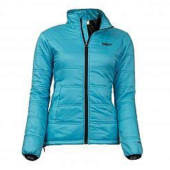 Women's Deusa 150GSM Insulated Jacket - Aqua - Front View