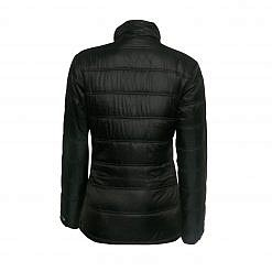 Women's Deusa 150GSM Insulated Jacket - Black - Back View
