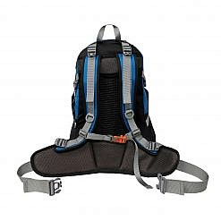Treka 35 Litre Backpack - Blue and Black - Back View
