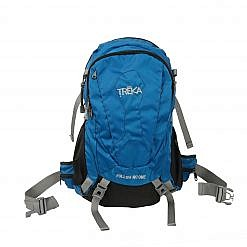 Treka 35 Litre Backpack - Blue and Black - Front View
