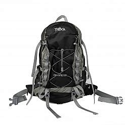 Treka 40 Litre Backpack - Grey and Black - Front View
