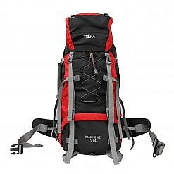 Treka 90 Litre Backpack - Red and Black