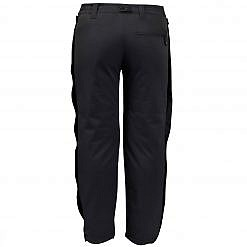 Kids Avalanche Insulated Pants - Black - Back View