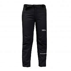 Kids Avalanche Insulated Pants - Black - Front View