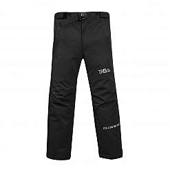 Men's Avalanche Winter Pants 300GSM - Black - Front View
