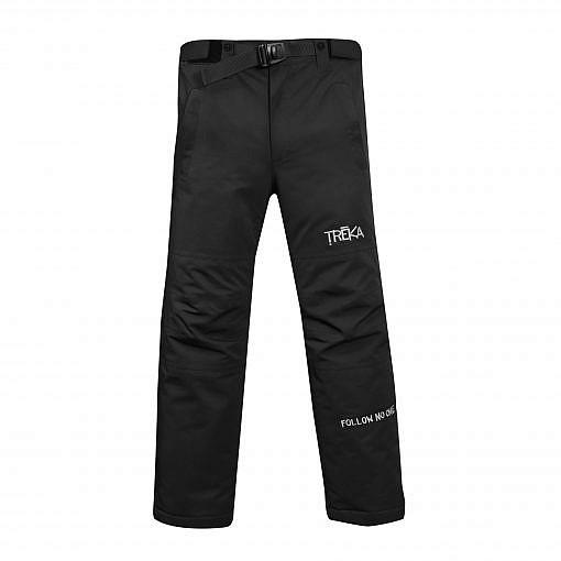Men's Avalanche Winter Pants 300GSM - Black - Front View