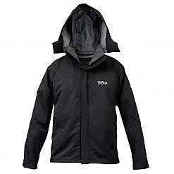 Men's Avalanche 3-in-1 Winter Jacket 300GSM - Black - Front View