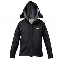Women's Avalanche 3-in-1 Winter Jacket 300GSM - Black - Front View
