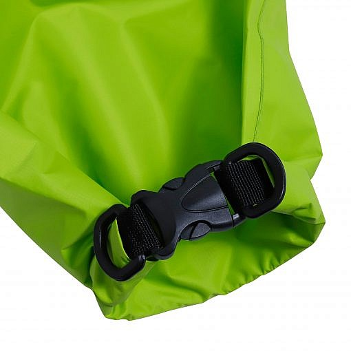 Treka Waterproof Roll Top Dry Bag - Green - Top Detailed View