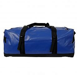 Marine 70 Litre Duffle Bag Blue Back View