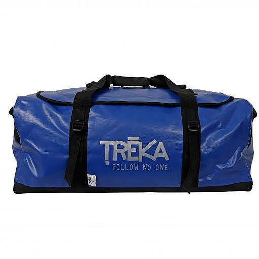 Marine 70 Litre Duffle Bag Blue Front View