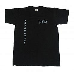 Treka Follow No One Unisex T-Shirt - Black