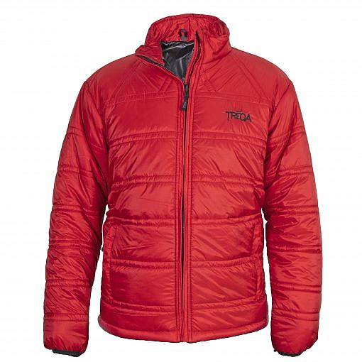 TREQA Dablam Men's Insulated Jacket 150GSM CCS - Red - Front View