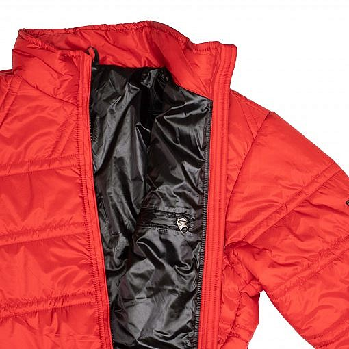 Dablam CCS Men's Insulated Jacket 150GSM Red Inside View