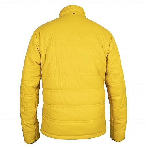 Dablam CCS Men's Insulated Jacket -150GSM Yellow Back View