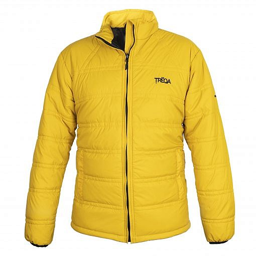 Dablam CCS Men's Insulated Jacket -150GSM Yellow Front View