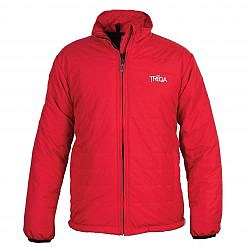 TREQA Khumbu Men's Insulated Jacket 100GSM CCS - Red - Front View