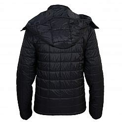 TREQA Pumori Men's Insulated Jacket 200 GSM CCS - Black - Back View
